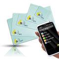 【gtag】G06M1K NFC電子標籤組合體驗包 (10片裝) ◎可重複讀寫 ◎tag適用NFC手機SONY Xperia/HTC ONE X/Samsung S3/Nokia 603/700/70..