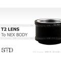 EGE 一番購】T2 T-Mount 鏡頭轉SONY NEX機身轉接環NEX7 NEX-5R NEX-6 NEX-F3 【標準版】