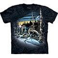 『摩達客』< 預購 (大尺碼3X)美國進口人氣品牌【The Mountain】自然純棉系列 尋十三狼群 T恤