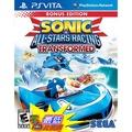 [玉山百貨網] PS Vita PSV 音速小子&SEGA 超級巨星大賽車 變形 (英文 亞版) 2012/11/20上市 $990