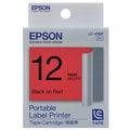 [現貨] EPSON C53S625003 LC-4RBP 標籤機色帶 (紅底黑字/12mm) (LW-500 / LW-700 / LW-900)