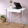 《Homelike》創思單抽NB桌-80x40cm 電腦桌 書桌 工作桌 寫字桌 兒童桌 (純白色)