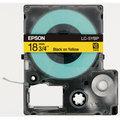 [現貨][免運費] EPSON C53S626004 LC-5YBP 標籤機色帶 (黃底黑字/18mm) (LW-500 / LW-700 / LW-900)