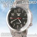 CASIO 時計屋 SEIKO 精工機械錶系列 SNKA15K1 黑底數字刻度帥氣機械男錶 透明背蓋 全新有保固 附發票