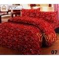 ==YvH==台灣製 刷毛絨 1207.1212 桃&紅 雙人鋪棉床包兩用被4件組 超柔 溫暖厚絨毛 免暖被