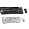 微軟 Microsoft 標準滑鼠鍵盤組600 黑白兩色 (APB-00017/ APB-00020)