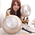 保麗晶 陶瓷不沾鍋黃金聚財雙鍋組(BFB00002)