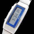 【滾石鐘錶】ALBA雅柏 WIRED f DIGITAL 時尚女孩系列 LCD液晶顯示 活潑跑馬燈效果 時尚數位腕錶(ALBA原廠公司貨)型號:AE8003X