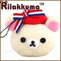 iae創百市集【RK924598】拉拉熊 懶懶熊 輕鬆熊 手機吊飾 立體娃娃耳機孔造型防塵塞吊飾