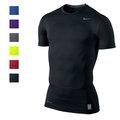 NIKE PRO Dri-Fit 緊身衣 短袖T恤 短T 排汗透氣舒適 束衣 運動內衫 自行車衣 kobe 慢跑鞋 籃球 內衣(9792)