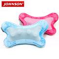 JOHNSON喬山 i-Puffy暖骨頭熱力舒壓按摩枕 MC-S160《天空藍/蜜桃粉》溫感體貼,深層舒壓