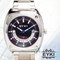☆★巴賽爾精品館☆★EYKI艾奇腕錶/微笑造型設計/日期顯示功能/造型錶殼系列