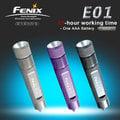 【大山野營】中和 Fenix LED E01 mini型 赤火手電筒 (三色) 防水 迷你手電筒 攜帶方便 10流明