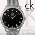 CASIO手錶專賣店 國隆 CK手錶專賣 Calvin Klein K3M51151 經典數字刻度米蘭編織男錶 大尺寸 保固一年 開發票