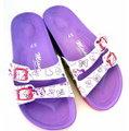(e鞋院)米妮精緻(雙扣)勃肯鞋   (紫)
