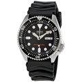 SEIKO WATCH 精工深海潛將水鬼王黑圈200米潛水矽膠帶自動上鍊機械腕錶 型號:SKX007K【神梭鐘錶】