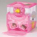 日本MARUKAN》鼠鼠飼育套房鼠籠(MR-258)附滾輪巢穴廁所水瓶