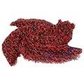 LV M74905 LEOPARD喀什米爾混紡豹紋印花披肩/圍巾(紅色)