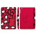★APP Studio★【GARMMA】Hello Kitty iPad Mini 摺疊式皮套–泡芙紅
