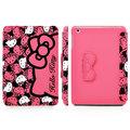 ★APP Studio★【GARMMA】Hello Kitty iPad Mini 摺疊式皮套–泡芙桃