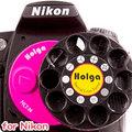 『樂魔派』HOLGA NIKON用單眼相機特效鏡頭 轉盤 LOMO 彩色 菱鏡 星芒 另售 CANON