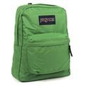 【小崴Life】JanSport 校園背包(SUPER BREAK)-草綠 (43501-9EU) 後背包