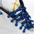 鍵燁免運【XTENEX免綁彈性鞋帶-深藍】 運動鞋鞋帶/跑鞋鞋帶/跑步鞋鞋帶/馬拉松/xtenex免綁鞋帶/球鞋鞋帶/asics跑鞋可用