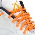 鍵燁免運【XTENEX免綁彈性鞋帶-螢光橘】 運動鞋鞋帶/跑鞋鞋帶/跑步鞋鞋帶/馬拉松/免綁鞋帶/鐵人/Converse運動鞋可用