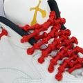 鍵燁免運【XTENEX免綁彈性鞋帶-紅色】 運動鞋鞋帶/跑鞋鞋帶/運動鞋帶/跑步鞋鞋帶/馬拉松/球鞋鞋帶/Acis球鞋可用