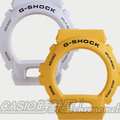 CASIO 時計屋 G-SHOCK【850元錶框區】 G-6900A 專用原廠錶框 黃/白款 開發票