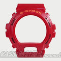 CASIO 時計屋 G-SHOCK 【700元錶框區】DW-6900CB專用原廠錶框 紅款 開發票