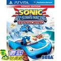 [刷卡價]PS Vita PSV 音速小子&SEGA 超級巨星大賽車 變形 英文版(亞版)yxzx $814
