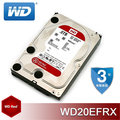 WD 3.5 吋 RED 2TB SATA NAS 專用硬碟 (WD20EFRX) - AF