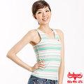 BOBSON -女款針織條紋無袖背心(型號:56107-47)