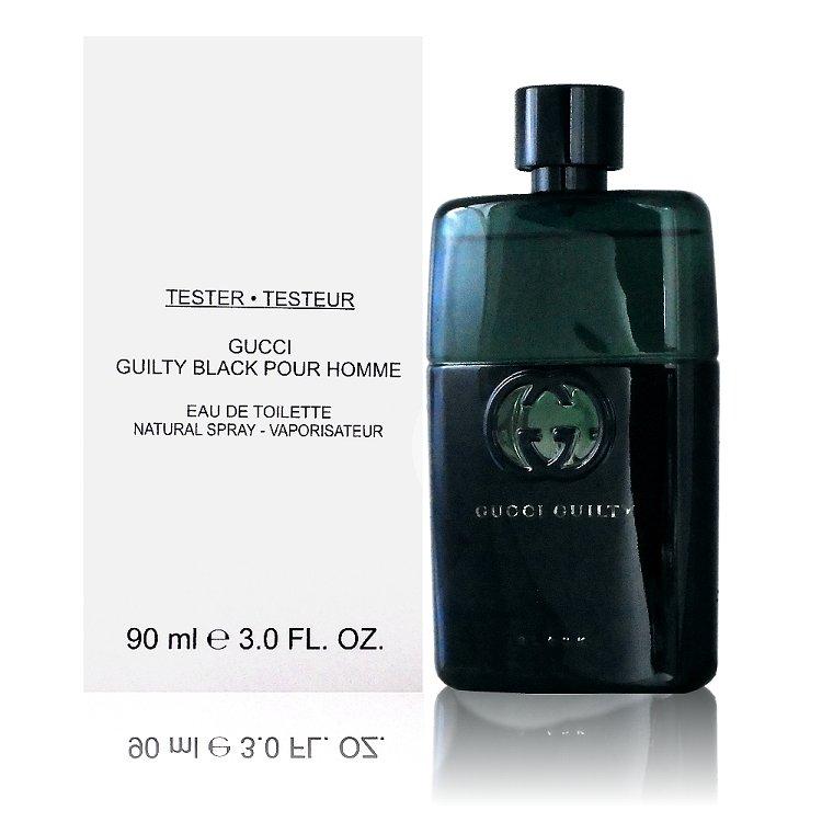 Gucci Guilty Black Pour Homme Eau de Toilette Spray 罪愛夜 - 男性淡香水 90ml Tester 包裝