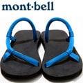 Mont-Bell 日系圓織帶休閒拖鞋/戶外涼鞋 Sock-on sandals 1129396 NV/RB 藍/皇家藍