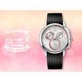 CASIO手錶專賣店 國隆 CK手錶 Calvin Klein K1V27926白 三眼計時膠帶 保固發票