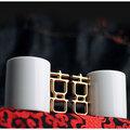 買一送1※《喜器》CiCHi【金囍杯Golden Married Mug】對杯《隨附正版雙囍禮袋》☆獨家加碼再送囍磁雙喜磁鐵組