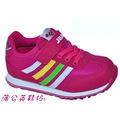 *~ 蒲公英 ~* JUMP將門運動鞋系列 307 (桃紅) 女童鞋