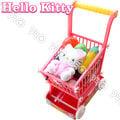 HELLO KITTY超級市場手推車/HELLO KETTY/扮家家酒/角色扮演/三麗鷗/伯寶行