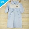 Alee Baby 農夫熊長袍 (3色)保暖/寶寶/居家服/長袖/幼兒/秋冬(藍色)【DK0001】