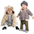 寶寶外套 羊羔絨 雙面穿外套 帽子可拆哦 CA3301 好娃娃