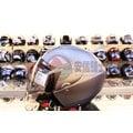 [中壢安信]ZEUS瑞獅安全帽 ZS-202D ZS202D 平光黑銀 安全帽 半罩式安全帽