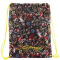 Ed Hardy - Drawstring Backpack All Over Collage (Black) 黑色經典拼貼束口袋後背包