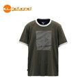 【Wildland】男椰炭圓領配色排汗衣 墨綠色 ( L x 3 / XL x 1 ) 71606