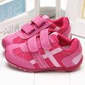 童鞋城堡{美國品牌}RS1925-Pediped限量甜美馬卡龍桃紅休閒鞋(15cm)