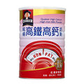 桂格~ 高鐵高鈣零脂肪奶粉 (750g/罐) 【富含鐵質、鈣質及維他命C、E、D3】