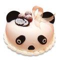 【千家軒】造型生日蛋糕-貓熊6吋 (香草蛋糕體+水果+布丁)