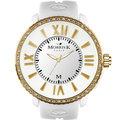 MORRIS K MK11185-DM104 獨一無二晶鑽潮流腕錶
