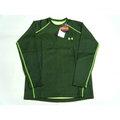 新莊新太陽 UNDER ARMOUR 1243770-002 保暖 圓領衫 螢光綠 長袖 排汗衣 7折出清2290